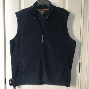 Men's navy blue Woolrich vest excellent condition